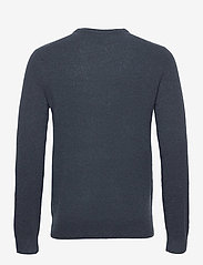 Banana Republic - Wool-Blend Crew-Neck Sweater - basic knitwear - blue slate - 1