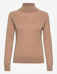 Banana Republic - Merino Turtleneck Sweater in Responsible Wool - turtlenecks - camel - 0