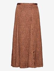 Banana Republic - Satin Godet Midi Skirt - midi skirts - camel/animal print - 1