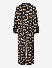 Banana Republic - Satin Pajama Set - pyjama''s - travel animal flrl tt - 1