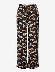 Banana Republic - Satin Pajama Set - pyjama''s - travel animal flrl tt - 2