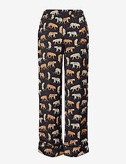 Banana Republic - Satin Pajama Set - pyjama''s - travel animal flrl tt - 3