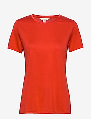 Banana Republic - I SS Elevated Tee - t-shirts - hot red - 0