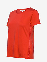 Banana Republic - I SS Elevated Tee - t-shirts - hot red - 2