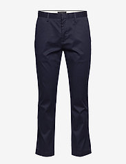 Banana Republic - Aiden Slim Rapid Movement Chino - chinos - preppy navy - 0