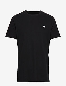 I LOGO SOFTWASH TEE - basic t-shirts - black