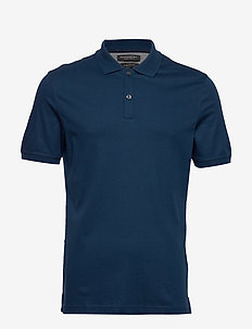 Luxury-Touch Polo - À manches courtes - navy star 739