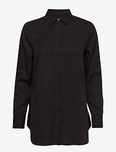 LS PARKER TENCEL SOLID - BLACK