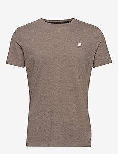I LOGO SOFTWASH TEE II - basic t-shirts - sandstorm