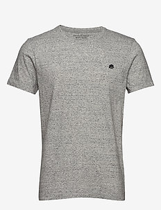 I LOGO SOFTWASH TEE II - basic t-shirts - smoking grey global