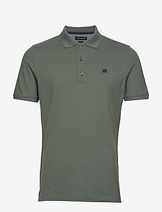 Signature Pique Polo - CASTLE GREEN