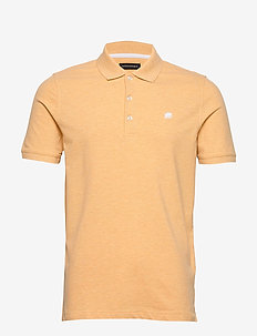 Signature Pique Polo - ORANGE BLAZE