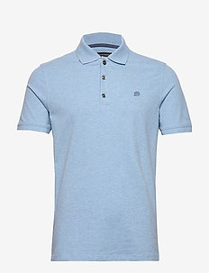 Signature Pique Polo - SPA BLUE