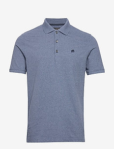 Signature Pique Polo - SPACE BLUE