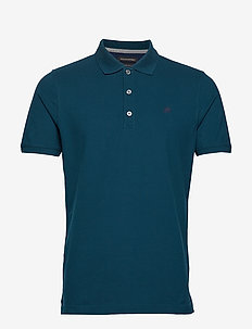 Signature Pique Polo - TEAL SHADOW