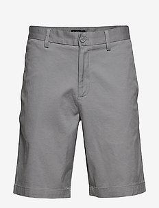"9"" Slim Stretch-Cotton Short - CLOUD GRAY 153802 TCX"