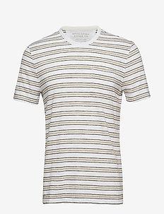 Vintage Crew-Neck T-Shirt - À manches courtes - optic white 900