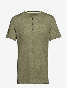 Vintage Henley T-Shirt - GREEN GROVE