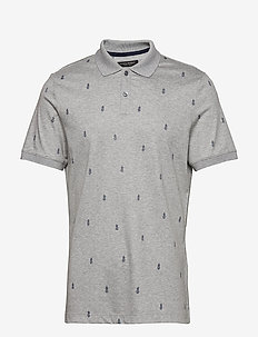 Luxury-Touch Polo - MED HTHR GREY B25