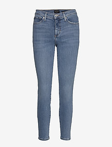 Mid-Rise Skinny Ankle Jean - skinny jeans - light wash