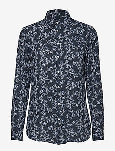 Dillon Classic-Fit Floral Shirt - PREPPY NAVY
