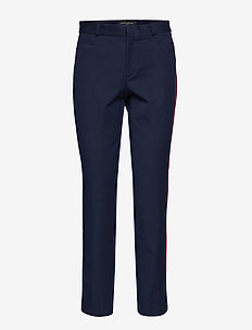Sloan Skinny-Fit Side-Stripe Pant - PREPPY NAVY