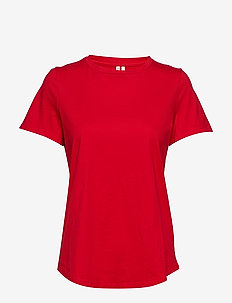 SUPIMA® Cotton Crew-Neck T-Shirt - t-shirts basiques - ultra red