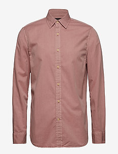 Slim-Fit Cotton Twill Shirt - ATACAMA PINK