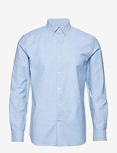 JAPAN EXCLUSIVE Slim-Fit Cotton Oxford Shirt - LIGHT BLUE