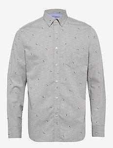 Standard-Fit Luxe Poplin Shirt - FRESH LIMEADE