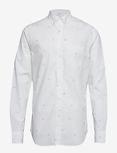 Standard-Fit Luxe Poplin Shirt - oxford skjorter - plein air 13-4111 tcx