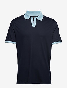 Luxury-Touch Polo - PREPPY NAVY