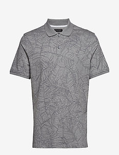 Luxury-Touch Printed Polo - À manches courtes - medium hthr grey bc18
