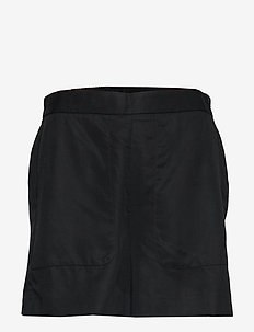 "High-Rise 4"" TENCEL™ Pull-On Short - casual shorts - black"