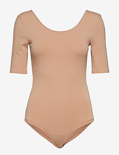 Essential Bodysuit - SONORAN BEIGE