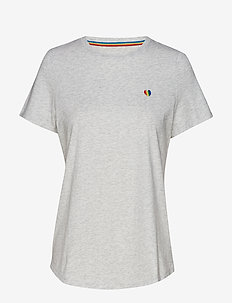 Pride 2019 Heart T-Shirt (Women's Sizes) - LIGHT GREY