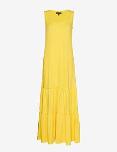 Tiered Maxi Dress - DANDELION YELLOW GBL