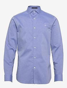 I CA LOGO NI SOLID - basic shirts - blue