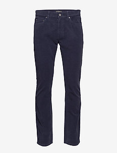 Slim Brushed Traveler Pant - slim jeans - baltic blue