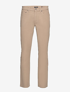 Slim Brushed Traveler Pant - slim jeans - smooth taupe