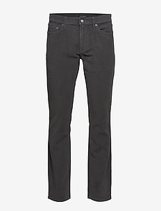 Slim Brushed Traveler Pant - slim jeans - steel grey