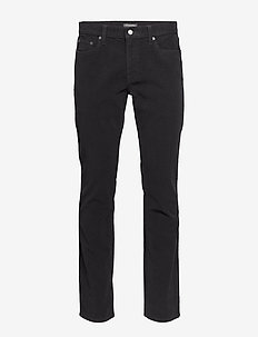 Slim Brushed Traveler Pant - slim jeans - true black