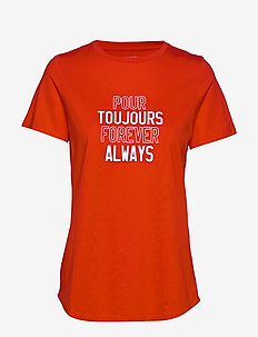 I SS SUPIMA CREW POUR TOUJOURS - t-shirts - ultra red