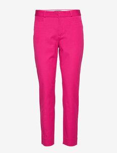 Modern Sloan Skinny-Fit Washable Pant - bukser med lige ben - fuschia