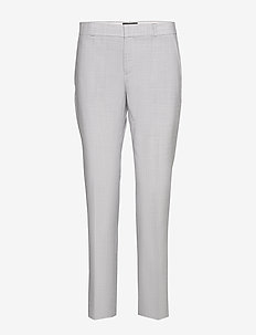 Ryan Slim Straight-Fit Washable Wool-Blend Pant - slim fit housut - light grey
