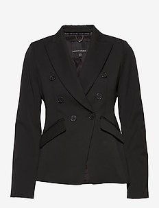 Double-Breasted Blazer - BR BLACK
