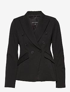 Double-Breasted Blazer - vestes tailleur - br black