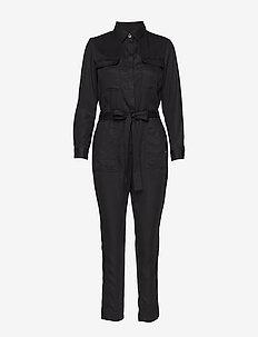 TENCEL™ Flight Jumpsuit - buksedragter - black k-100