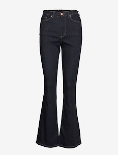 High-Rise Flare Jean - flared jeans - rinse