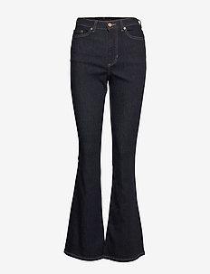High-Rise Flare Jean - leveälahkeiset farkut - rinse